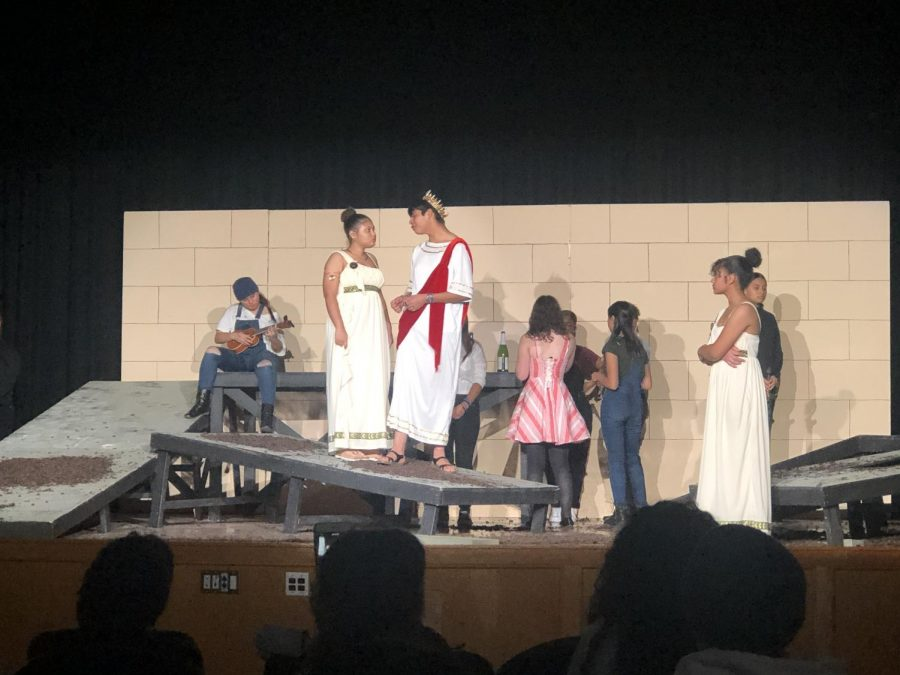Passaic Prep put on an adaptation of the Greek tragedy