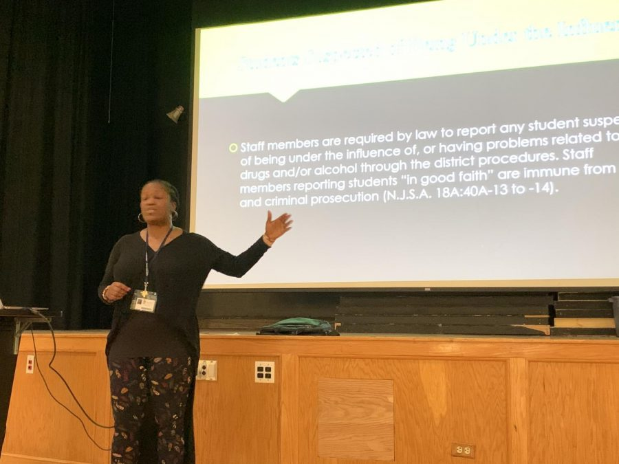 The Prep held an assembly on the consequences of substance abuse on Wednesday, Nov. 20.