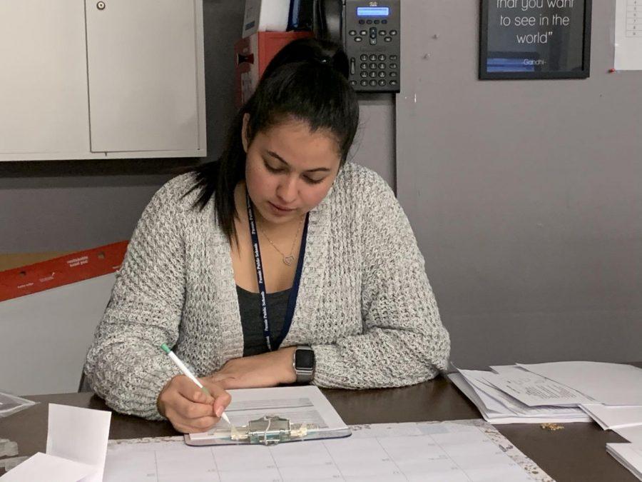Valeria+Montoya+teaches+Biology+at+Passaic+Prep+Academy.