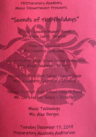 holiday concert program