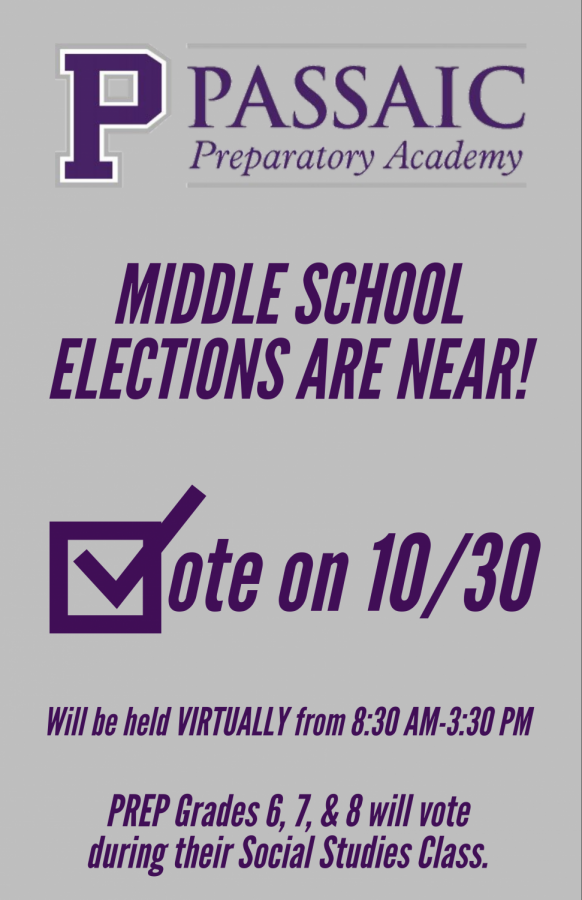 Prep Middle School elections set for Friday