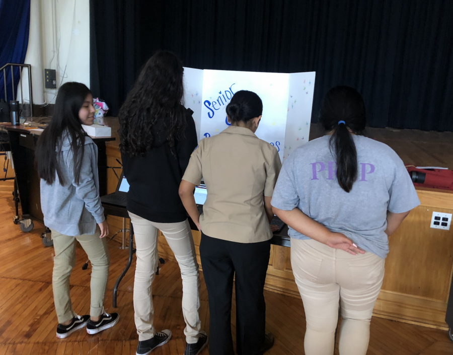 Prep students vote in Student Council elections, 2019-20