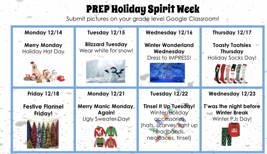 Middle Schoolers to show Prep spirit during Spirit Week