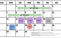 Schedule for the month of June at Prep (UPDATED June 4)