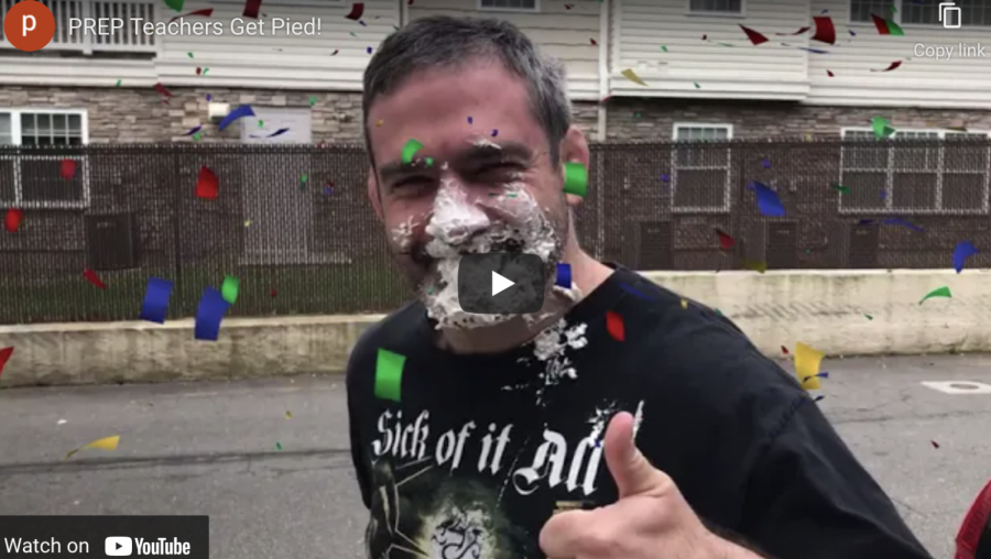 Video: Watch Prep teachers get pied!